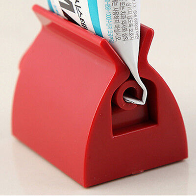 Rolling Tube Toothpaste Squeezer Toothpaste Easy Dispenser Seat Holder Stand RU