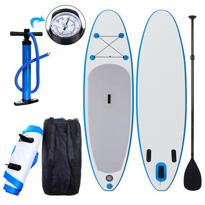 "10'' 6"" SUP Inflatable Stand Up Paddle Board with Adjustable Paddle"