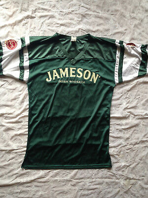 JAMESON IRISH WHISKEY ~ Football Jersey #80 ~ Stitched Lettering ~ Sz XL ~ EUC ~
