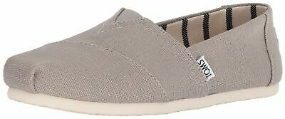 f120380978b TOMS CLASSIC MORNING Dove Heritage Canvas Womens Espadrilles Shoes ...