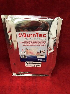 "1 NEW BURNTEC Burn Dressing 4""x16"" 30-0111 NAR North American Rescue"