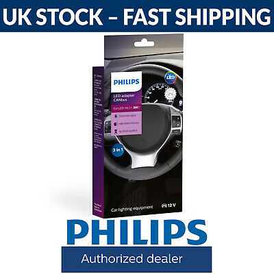 Philips LED Headlight CANbus Adapter Adaptor H4 (Twin) 18960C2