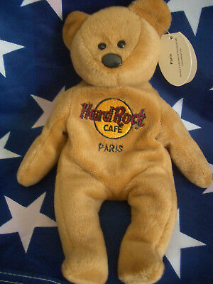 HRC Hard Rock Cafe Paris Isaac Bear Beara Bär Teddy Herrington LE