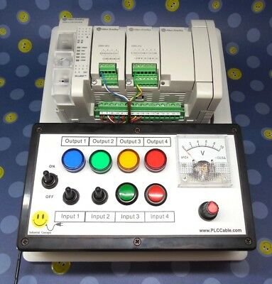 Allen Bradley Micro850 Programmable Ccw Plc Trainer Micro800 Ethernet Training