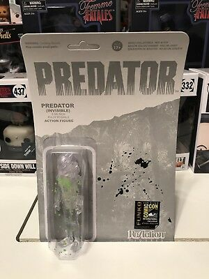 Funko ReAction Figure Predator 3-Inch Figure - Invisible 2014 SDCC Exclusive