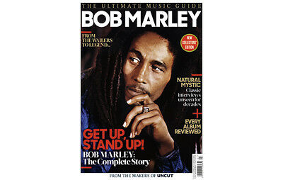 BOB MARLEY - Uncut Ultimate Music Guide 124 Pages (2017) NOBARCODE