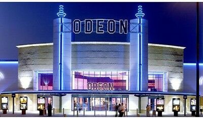 Odeon Adult Premier Seat Ticket £7.00, outside M25 (fast confirmation) ANY FILM!