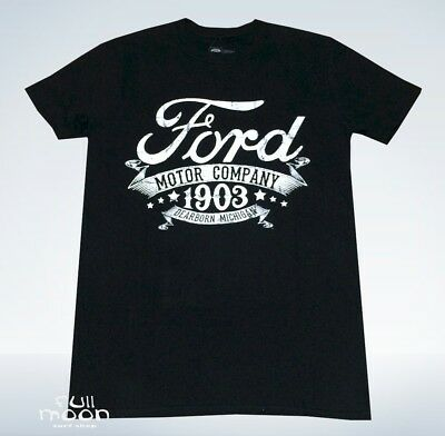 New Ford Motor Company 1903 Men's Vintage Throwback T-Shirt