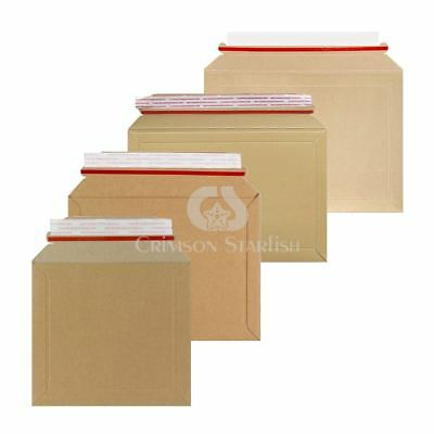 Rigid Cardboard Envelopes Expanding Royal Mail PIP Large Letter Postal Mailers
