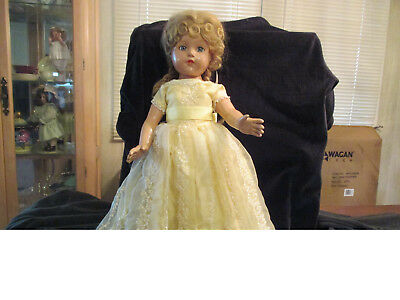 20 Inch Anne Shirley Effanbee Composition Doll Beautiful Condition
