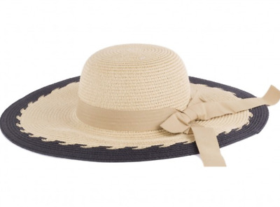 Hots-Wing Summer Bow Packable Paper Golf Tennis Beach Women s Sun Hat  HY-3672 8ab46e025a6c