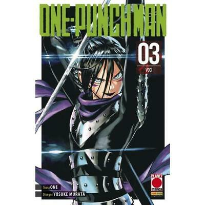 ONE PUNCH MAN 3 one-punch RISTAMPA - PLANET MANGA PANINI ITALIANO - NUOVO