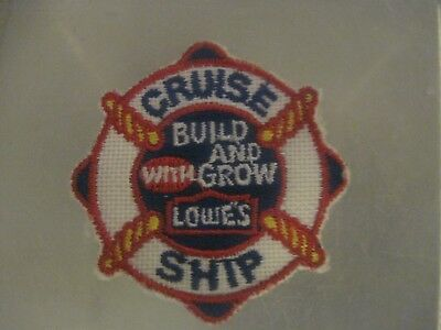 Lowes Build And Grow Cruise Ship Vest Patch