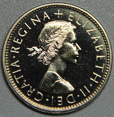 1970 Great Britain (UK) 2 Shilling Proof