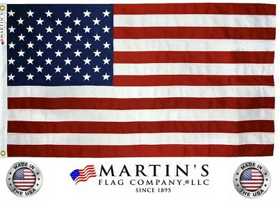 American Flag, Various Sizes, 100% Made in USA, Made with high quality Nylon