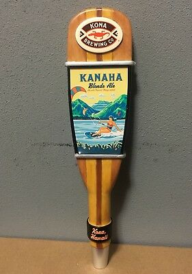 Kona Brewing Co KANAHA Blonde Ale Paddle Beer Tap Handle New In Box Rare