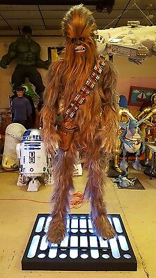 Life Size Star Wars Chewbacca Full Size Chewie Prop Statue