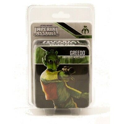 Star Wars Imperial Assault Greedo Villian Pack