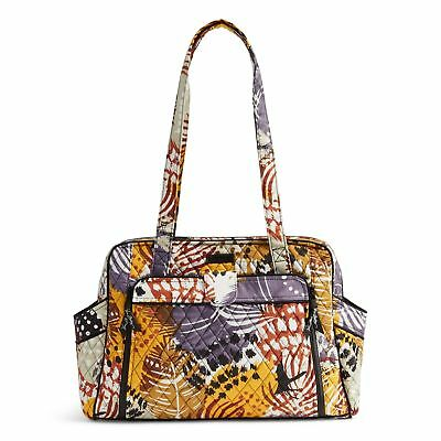 VERA BRADLEY Stroll Around Large Baby Bag in Painted Feathers