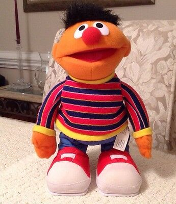Fisher Price T.M.X. Tickle Me Ernie - L6568, Laughs Uncontrollably, Spins & More