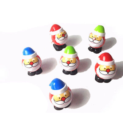 Wind Up Christmas Xmas Santa Claus Clockwork Kids Toy Gift Xmas Decor