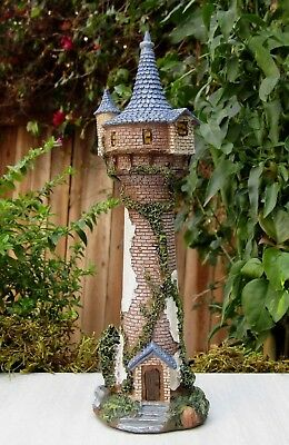 Miniature Dollhouse FAIRY Tale GARDEN ~ ENCHANTED House Tall Castle ~ NEW
