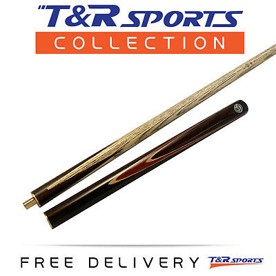 """57"""" 2-Piece OMIN Ash Snooker Pool Cue for Billiard Game 9mm Tip Free Post AU"""