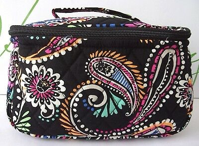 96b389d051 VERA BRADLEY TRAVEL Cosmetic Makeup Case Bandana Swirl -  36.99 ...