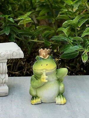 Miniature Dollhouse FAIRY GARDEN ~ ENCHANTED Fairytale Frog Prince ~ NEW
