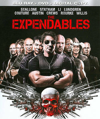 The Expendables Blu-ray DVD 3-Disc Set Brand New Free Shipping Stallone
