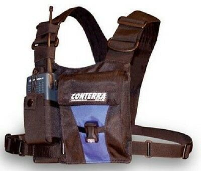Cascade Rescue - Conterra Adjusta Pro II Radio Harness with Pouch & Light
