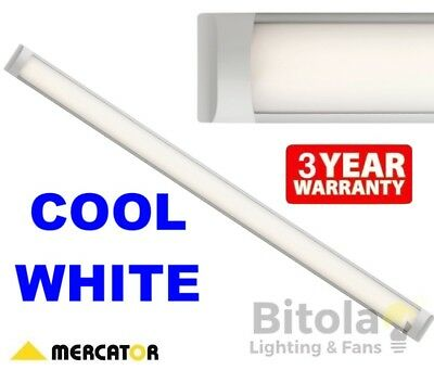 NEW MERCATOR NEO 1200mm 45w LED SLIMLINE BATTEN LIGHT SURFACE MOUNT CEILING COOL