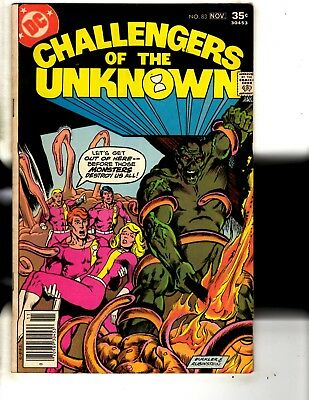5 DC Comics Challengers Of The Unknown # 83 84 85 86 + Superman # 48 JG7