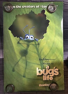 A Bug's Life Advance 1 Sheet Double Sided 27x40 Original Movie Poster