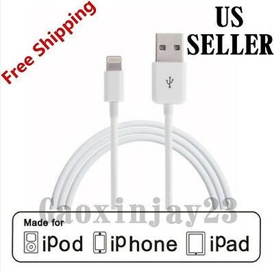 Lightning USB Cable Charger Genuine Quality OEM Apple iPhone X 8 7 6 6S Plus 5