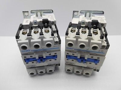 Chint Nc1 18.5Kw Ac Coil Contactor 4 Pole 3M & 1 N/o Poles 240V, 415V 40 Amp Aux