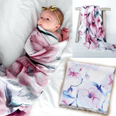 Us New Baby Infant Receiving Swaddling Hospital Blankets Large 31''x32''