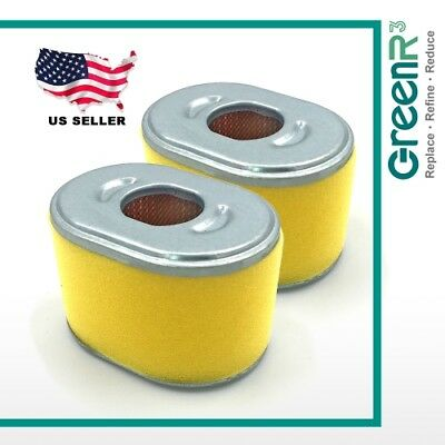 Trimmers For Kawasaki 11013‐7047 2x GreenR3 Pre-motor Air Filters Lawn Mowers