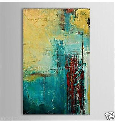 Large Modern Abstract Oil Painting Hand-painted Art canvas Wall Decor No framed