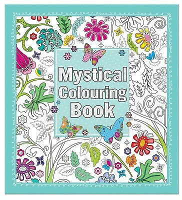 Mystical Colouring Book for Adults. Anker. Huge Saving