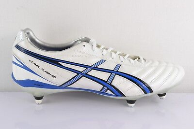 Asics Lethal Flash DS Piece White Men's Rugby Shoes Rugby Sports Shoes Trainers