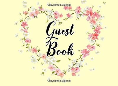 Guest Book: Book For 80th Birthday, Blank Lined Guest Book For Birthdays, (8....
