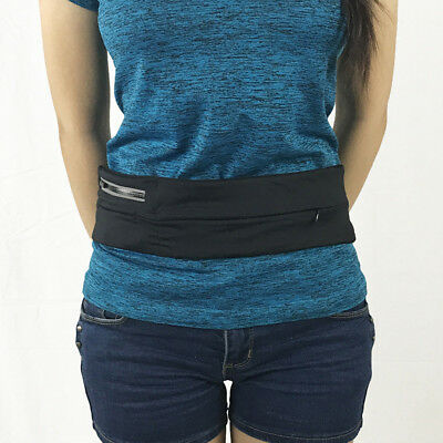 Elastic Gym Workouts Belt Pouch Fitness Fanny Pack for Mobile Phone Passport