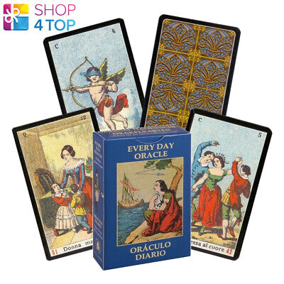 Every Day Oracle Cards Deck Vera Sibilla Esoteric Telling Lo Scarabeo New