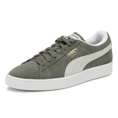 0041c0c920d8 PUMA MENS CLASSIC Trainers Castor Grey Suede Lace Up Casual Shoes