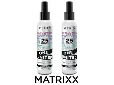 Redken One United 2x 150ml  All In One Multi Treatment -
