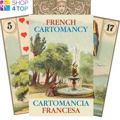 French Cartomancy Oracle Cards Deck Esoteric Telling Lo Scarabeo New