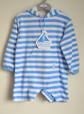 Unisex Baby Towelling Beach Romper 'Mitty James'  Age: 2-3yrs.