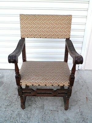 Antique Armchair Carved Charles X