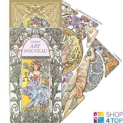 Tarot Art Nouveau Deck Cards Esoteric Fortune Telling Lo Scarabeo New